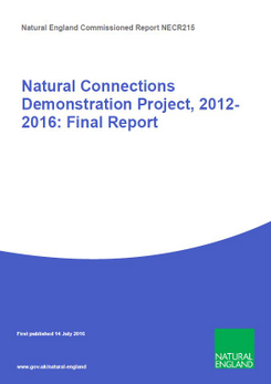 Natural Connections Demonstration Project, 2012-2016: Final Report